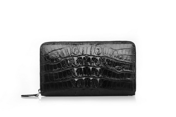 High Quality Crocodile Leather Wallet RL051 Black