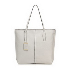 New Fashion Off White Grain Cowhide Leather Bag RL1463
