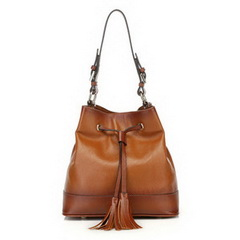 Wholesale Designer Aluino Brown Cowhide Leather Bag RL1053