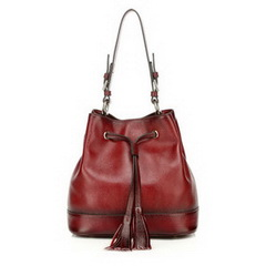 Wholesale Designer Aluino Red Cowhide Leather Bag RL1053