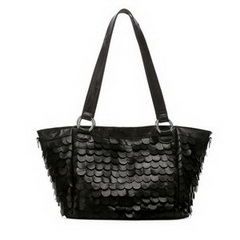 Wholesale Designer Black Calfskin Leather Shoulder Bag RL970
