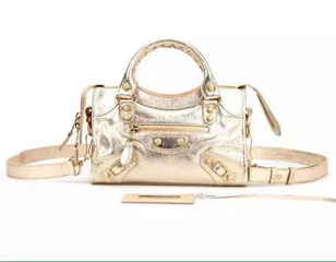 New Style mini Classic First Bag Gold Leather B300295 Gold