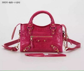 New Style mini Classic First Bag Peach Leather B300295 Gold