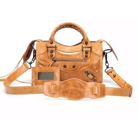 New Style mini Classic First Bag Wheat Leather B300295 Black
