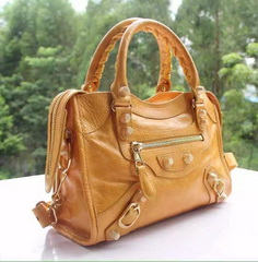 New Style mini Classic First Bag Wheat Leather B300295 Gold