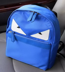 Brand Designer Nylon Fabric BACKPACK F20155 Blue