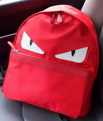Brand Designer Nylon Fabric BACKPACK F20155 Red
