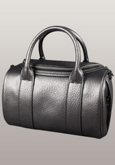 Hot Designer Alexa Duffle Calfskin Leather Bag Sliver