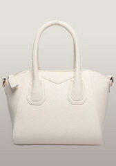 Wholesale Christi Faux Leather Small Bag Cream