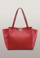 Rockstar Nappa Leather Bag Red